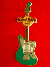 HRC Hard Rock Cafe Online Fender ERA Guitar Series 2010 Green Jaguar Bass LE500