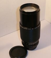 VIVITAR 80-200mm PK MOUNT MANUAL FOCUS LENS for PENTAX FILM & DIGITAL SLRs (565)