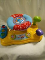 VTech Around Town Baby Driver Educational Learning Toy Lights Sounds Music