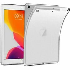 """For iPad 7th Generation 10.2"""" 2019 Ultra Slim Soft TPU Clear Gel Back Case Cover"""