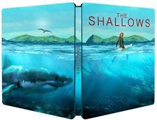 THE SHALLOWS Blu ray Steelbook - REGION FREE ( NEW )