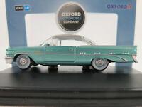 Oxford 87PB59003 Pontiac Bonneville Coupé (1959) in green/silver 1:87/H0 NEU/OVP