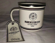 48 x Retro Football Tin Mugs - Everton/Man City -Football Wholesale/Job Lot/Bulk