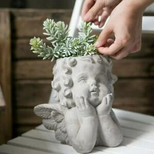 Cement Angel Planter Brand New Solid Quality