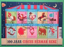 Nederland NVPH V2868 - 2877 Circus Herman Renz 2011 mooi gestempeld