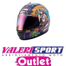 Casco integrale Helmet SUOMY Strada Racing EXTREME REPLICA CAPIREX USA BLUE