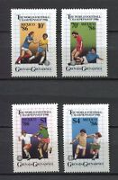 25994) Grenada Grenadines 1986 MNH New Soccer Mexico