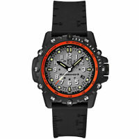 Luminox Men's Watch Commando Frogman Quartz Grey Dial Black Rubber Strap 3301