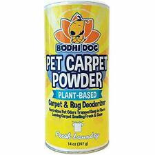 Natural Dog Odor Carpet Powder Dry Pet Smell Neutralizer Eliminator Remove Urine