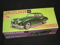 ITC MODEL CRAFT GREEN JAGUAR IN BOX WITH BOX & INSTRUCTIONS VINTAGE 1950's READ