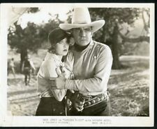 "BUCK JONES + BARBARA WEEKS Original Vintage 1932 COLUMBIA Photo ""SUNDOWN RIDER"""