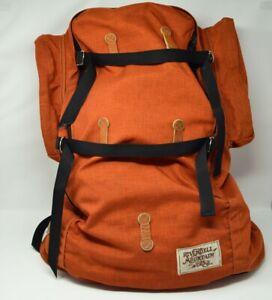 Rivendell Mountain Works Vintage Soft Pack Rucksack Rust Orange  Made in USA