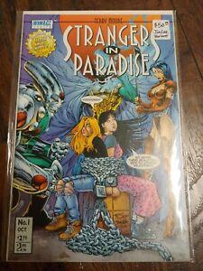 Strangers in Paradise #1 Homage Jim Lee Anti-Superhero Variant 1996 Terry Moore!