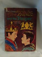 Walt Disney's The Prince and the Pauper First Edition Told By Lee Wyndham 1962