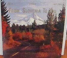 Kalik-Martincic Orchestra – From Slovenia To You LP Vinyl Novak NLP 2084 Polka