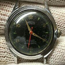 Vintage Geneva Louvic 17j Men's Military Wristwatch