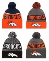 Denver Broncos Cuffed Beanie Knit Winter Cap Hat NFL Authentic