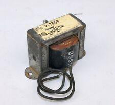 Vintage Merit P-2959 ~ 2 AMP  Filament Transformer ~ Tests Good
