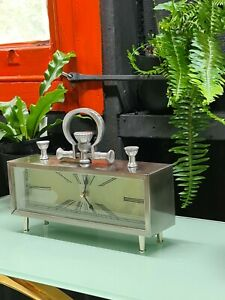Silver Rectangle Table Clock (price reduced)