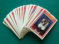 (25) 1989-1990 Fleer NBA All Star Game Basketball Cards #164 Olajuwon & Drexler