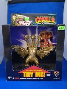 "Trendmasters Godzilla King of The Monsters King Ghidora 6"" Terrifying Roar NIB"