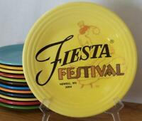 "Fiesta® SUNFLOWER 2014 Fiesta® Festival  9"" Luncheon Plate - New"