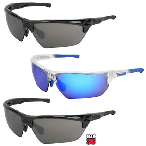 MCR Safety DM3 Series Dominator Polarized Safety Glasses, Anti-Fog/Scratch Avail
