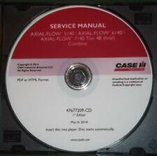 CUSTODIA AXIAL FLOW 5140 6140 7140 COMBINE TIER 4B SERVICE SHOP REPAIR BOOK