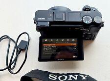 Sony Alpha a6300-MOUNT E APS-C Mirrorless Fotocamera ottime condizioni