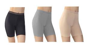 Vassarette Women's 3-Pack Invisibly Smooth Slip Short, Style 12385