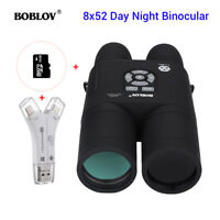 8x52 Optical Day & Night Vision Binocular With APM + 16GB + 4 in 1 Card Reader