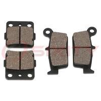 Front + Rear Organic Brake Pads 2003-2007 Honda CR85RB Expert Set Full Kit  ro