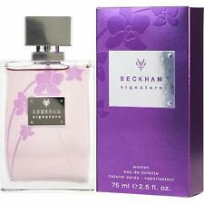 Beckham Signature by David Beckham 2.5 oz 75 ml Eau De Toilette spray for women