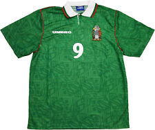 shirt Mexico World Cup USA 1994 Hugo Sanchez jersey player issue *NEW* XL home