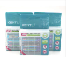 KENTLI12pcs 1.5v aaa1100mWh Rechargeable lithium Toy flashlight  camera battery