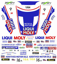 #16 Team Engstler BMW Z4 2013 1/64th HO Scale Slot Car WATERSLIDE DECALS