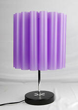 Modern Table Lamp  with Fireproof  Shade Purple IT212B