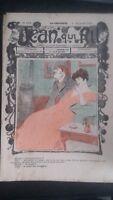 Revista Jean Que Rit N º 408 1908 Journal Demuestra que Aparecen El Viernes ABE