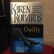 Guilty by Karen Robards HC DJ 1st/1st Free Shipping