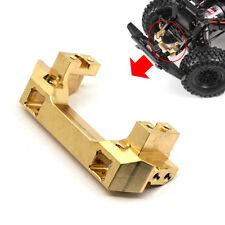 92g Metal Brass Front Bumper Mount Stoßfänger Gold für RC Crawler Traxxas TRX-4