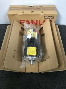 Fanuc BiS 4/4000-B AC Servo Motor A06B-2063-B503 w/ BiA1000 coder A860-2070-T321