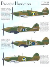 Iliad Decals 1/48 PRE-WAR HAWKER HURRICANE Mk-I Fighters