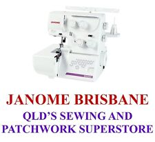 Janome My Lock 8002DX Overlocker Colour Coded Threading - Plus bonus valued $88