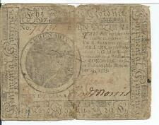 Philadelphia Penn Nov 29 1775 Seven Dollars $7 Continental Currency Rare #72731
