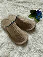 Authentic Handmade Wool Kyrgyz Men's Slippers Sz 8-11