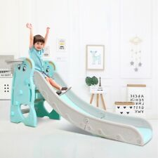 Toddler Home In/Outdoor Playground Climb Slide Set Play Fun Backyard Kid Play