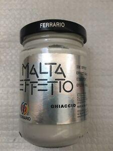 Ferrario - malta effetto - ghiaccio -  vasetto da 150 ml.