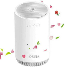 ORSJA Wireless Humidifier 320ml with Colorful LED Night Lights, USB Rechargeable
