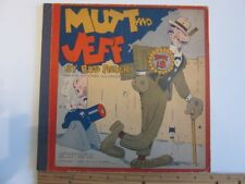 1933 MUTT and JEFF Book 18 by Bud Fisher - Nice