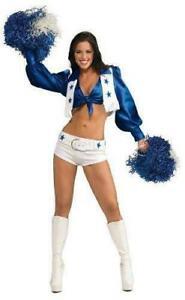 Womens/Teens Dallas Cowboys Cheerleader Costume - Xsmall